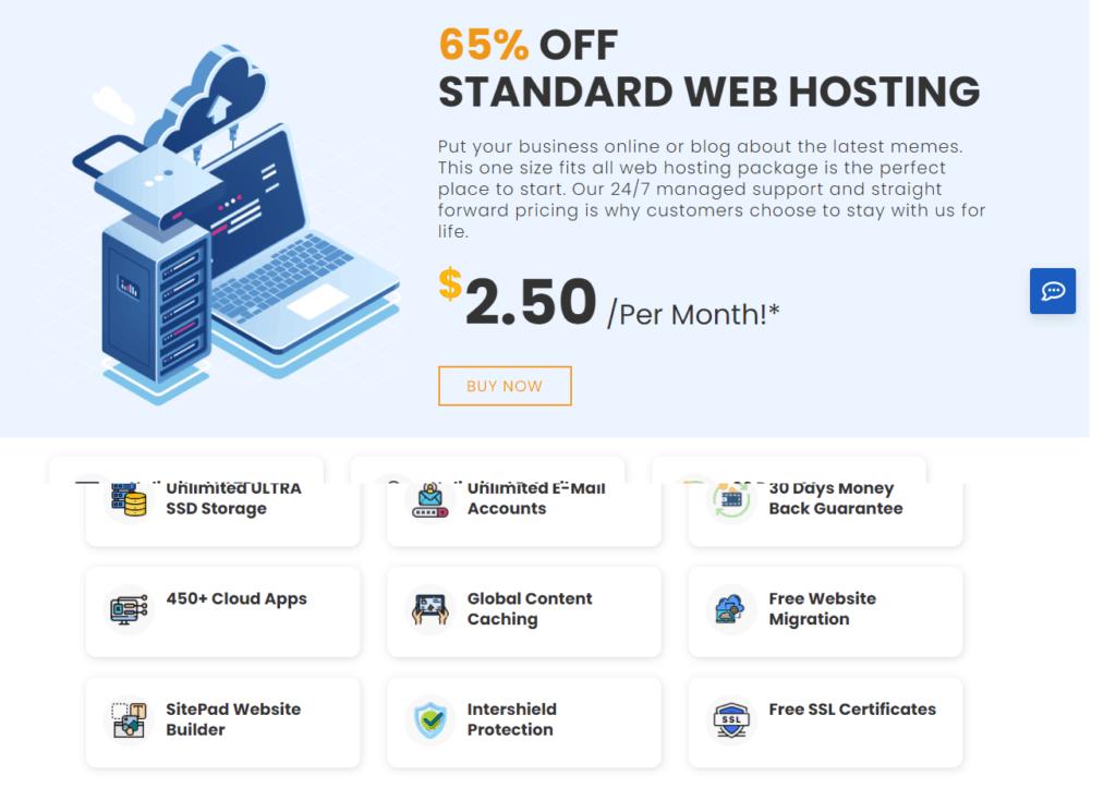 starter hosting plan price